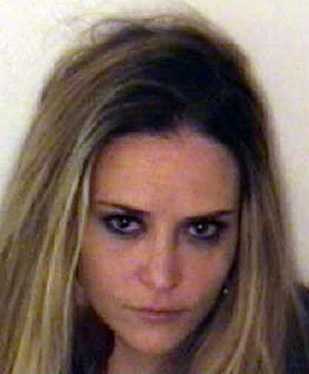 . This undated photo provided by the Aspen Police Department shows Brooke Mueller. Police in Aspen, Colo., say Mueller, Charlie Sheen\'s ex-wife, has been arrested on suspicion of third-degree assault and cocaine possession with intent to distribute. Authorities say officers arrested Mueller early Saturday, Dec. 3, 2011, at a nightclub after a woman reported being assaulted by her. Mueller posted $11,000 bond and was released from custody. She\'s scheduled in court Dec. 19. Aspen police spokeswoman Blair Weyer says additional details are not immediately available. (AP Photo/Aspen Police Department)
