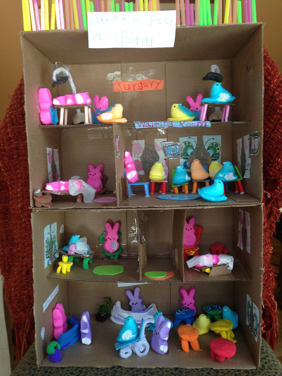 . Title: littleton Peep Hospital. Created entirely by: Lucy Verrett, Age: 6