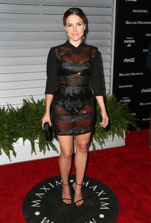 . Actress Sophia Bush attends Maxim Hot 100 Event at the Pacific Design Center on June 10, 2014 in West Hollywood, California.  (Photo by Frederick M. Brown/Getty Images)