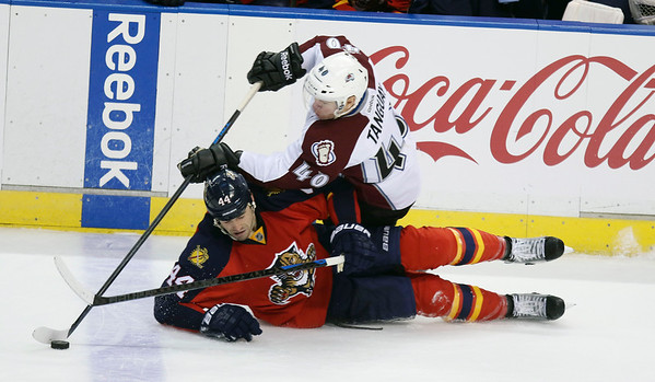 PHOTOS: Colorado Avalanche vs. Florida Panthers, Jan. 15, 2015
