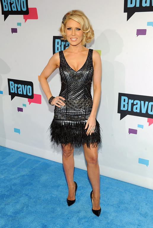 . Gretchen Rossi attends the 2013 Bravo New York Upfront at Pillars 37 Studios on April 3, 2013 in New York City.  (Photo by Craig Barritt/Getty Images)