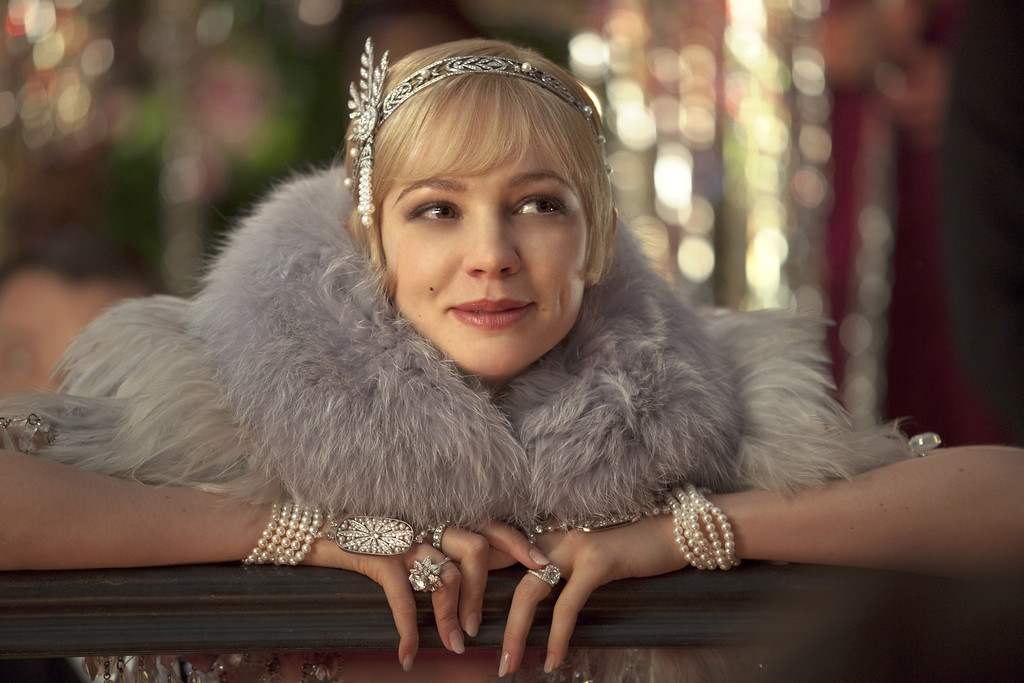 ". CAREY MULLIGAN as Daisy Buchanan in Warner Bros. Pictures� and Village Roadshow Pictures� drama, ""THE GREAT GATSBY,\"" a Warner Bros. Pictures release."