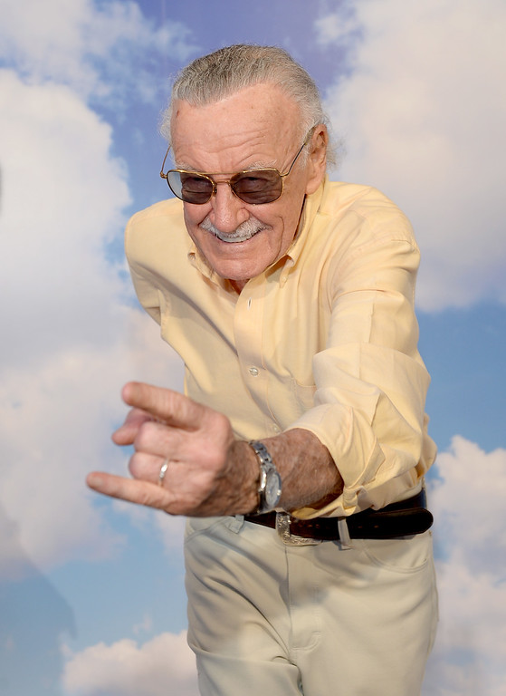 . SAN DIEGO, CA - JULY 19:  Comic book writer Stan Lee attends Day 2 of The Samsung Galaxy Experience on July 19, 2013 in San Diego, California.  (Photo by Michael Buckner/Getty Images for Samsung)