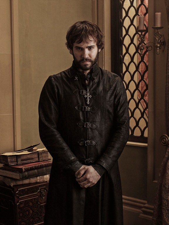 . Pictured: Rossif Sutherland as Nostradamus -- Photo: Mathieu Young/The CW -- © 2013 The CW Network, LLC