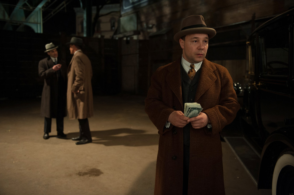 . BOARDWALK EMPIRE episode 40 (season 4, episode 4): Morgan Spector, Michael Shannon, Stephen Graham. photo: Macall B. Polay