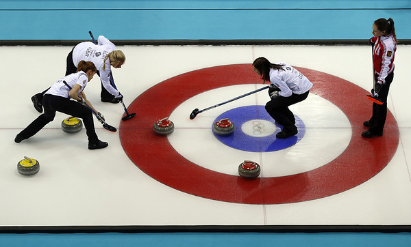 PHOTOS: Men's and Women's Curling at 2014 Sochi Winter Olympics
