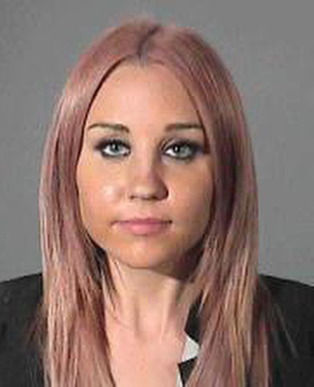 . In this police booking photo released by Los Angeles Conty Sheriff\'s Department showing actress Amanda Bynes, 26, who was arrested on suspicion of drunken driving after allegedly hitting a sheriff\'s patrol car. (AP Photo/Los Angeles Conty Sheriff\'s Department )