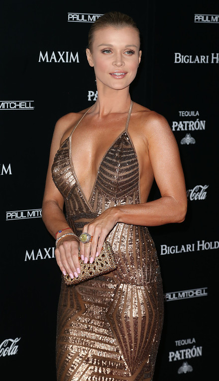 . Model Joanna Krupa attends Maxim Hot 100 Event at the Pacific Design Center on June 10, 2014 in West Hollywood, California.  (Photo by Frederick M. Brown/Getty Images)