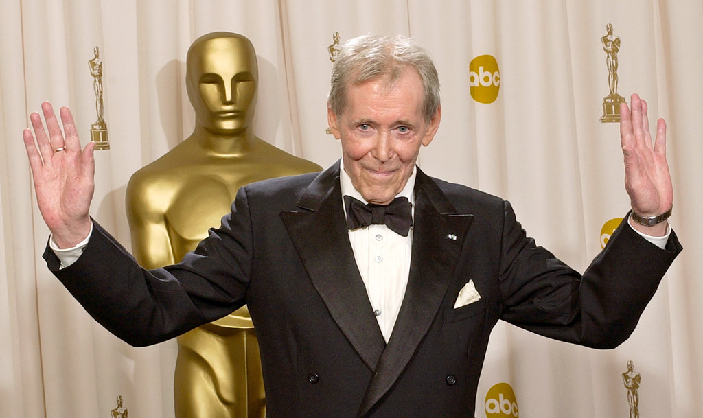 . Peter O\'Toole appears backstage without his Oscar after receiving the Academy Award\'s Honorary Award during the 75th annual Academy Awards in Los Angeles on March 23, 2003.  O\'Toole, the charismatic actor who achieved instant stardom as Lawrence of Arabia and was nominated eight times for an Academy Award, has died. He was 81. O\'Toole\'s agent Steve Kenis says the actor died Saturday, Dec. 14, 2013 at a hospital following a long illness. (AP Photo/Reed Saxon)