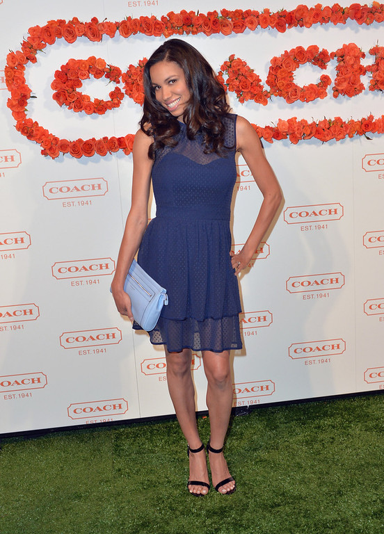 . Actress Jurnee Smollett attends the 3rd Annual Coach Evening to benefit Children\'s Defense Fund at Bad Robot on April 10, 2013 in Santa Monica, California.  (Photo by Alberto E. Rodriguez/Getty Images)