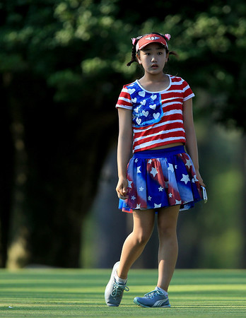 PHOTOS: Lucy Li, youngest qualifier in US Women's Open golf history