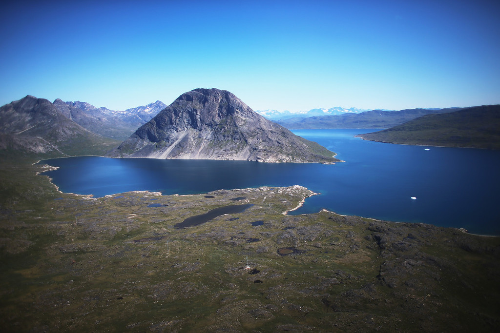 . A barren landscape is seen on July 30, 2013 near Qaqortoq, Greenland.   (Photo by Joe Raedle/Getty Images)