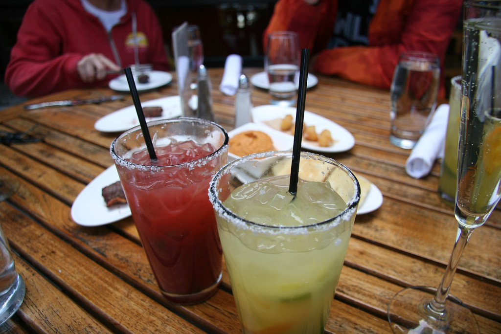. The spicy margaritas at the Spur in the Teton Mountain Lodge are not to be trifled with (get a small plate of the delectable croquettes to soothe your tongue). Kyle Wagner, The Denver Post
