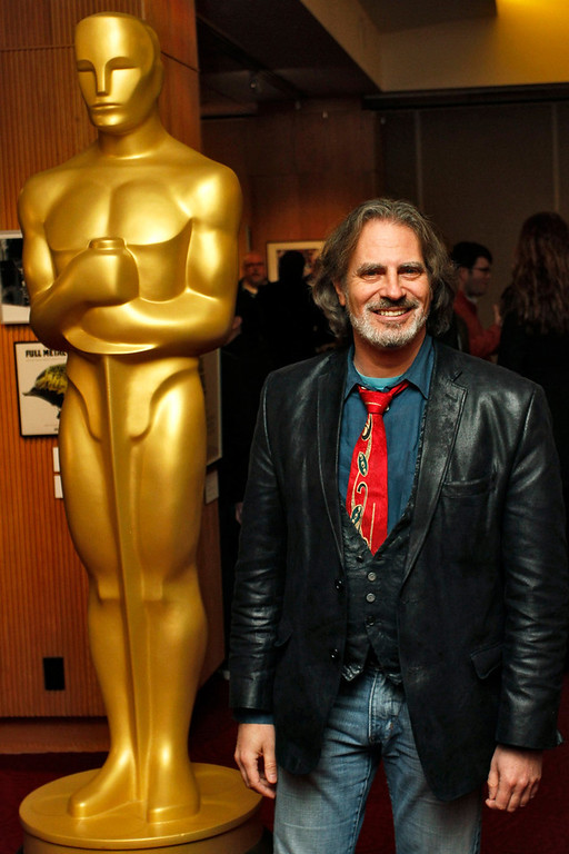 ". David Silverman, filmmaker of the Animated Short Film nominee ""Maggie Simpson in \'The Longest Daycare\"", arrives at Oscar Celebrates: Shorts, featuring this year\'s Oscar-nominated films in the Animated and Live-Action Short Film categories at the Academy of Motion Picture Arts and Sciences in Beverly Hills, California, February 19, 2013. REUTERS/Jonathan Alcorn"