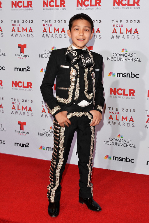 . PASADENA, CA - SEPTEMBER 27:  Singer Sebastien de la Cruz attends the Winner\'s Walk during the 2013 NCLR ALMA Awards at Pasadena Civic Auditorium on September 27, 2013 in Pasadena, California.  (Photo by Alberto E. Rodriguez/Getty Images for NCLR)