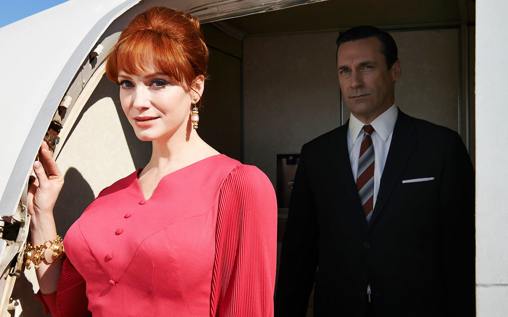 ". AMC \'s ""Mad Men\"" Season 7 premieres April 13, 2014. (Photo provided by AMC)"