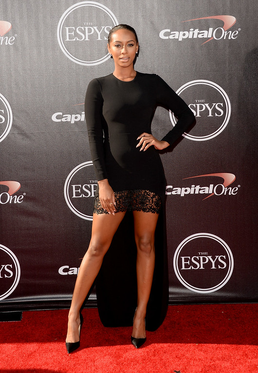 . LOS ANGELES, CA - JULY 16:  Singer Keri Hilson attends The 2014 ESPYS at Nokia Theatre L.A. Live on July 16, 2014 in Los Angeles, California.  (Photo by Jason Merritt/Getty Images)