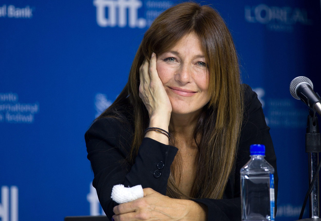 ". Actress Catherine Keener smiles during the press conference for ""Enough Said\"" at the 2013 Toronto International Film Festival in Toronto on Sunday, Sept. 8, 2013. (AP Photo/The Canadian Press, Galit Rodan)"