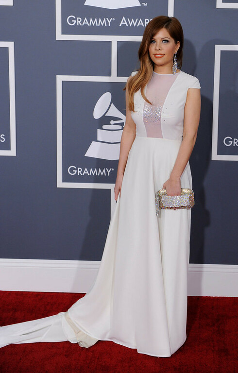 . Kady Z arrives to  the 55th Annual Grammy Awards at Staples Center  in Los Angeles, California on February 10, 2013. ( Michael Owen Baker, staff photographer)
