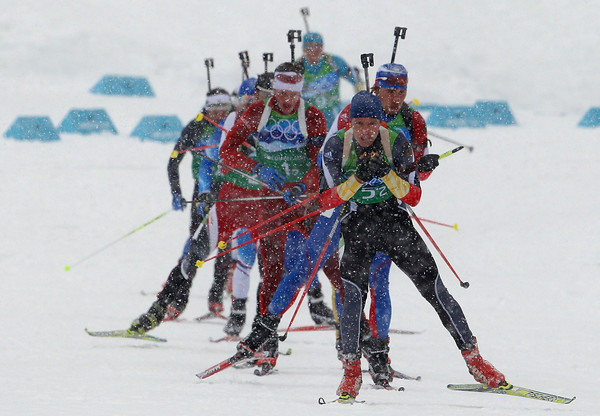 PHOTOS: The Best of Olympic Biathlon from Vancouver Olympics 2010