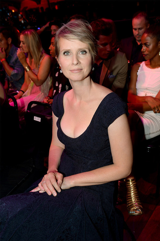 . Actress Cynthia Nixon attends the DoSomething.org and VH1\'s 2013 Do Something Awards at Avalon on July 31, 2013 in Hollywood, California.  (Photo by Michael Buckner/Getty Images for VH1)