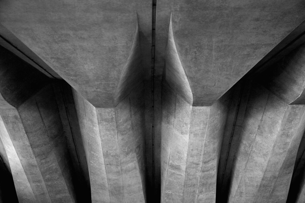 . Structural detail underneath the forecourt staircase at the Sydney Opera House on September 20, 2013 in Sydney, Australia. On October 20, 2013 the iconic Sydney Opera House will celebrate 40 years since it was officially opened by Queen Elizabeth II in 1973.  (Photo by Cameron Spencer/Getty Images)
