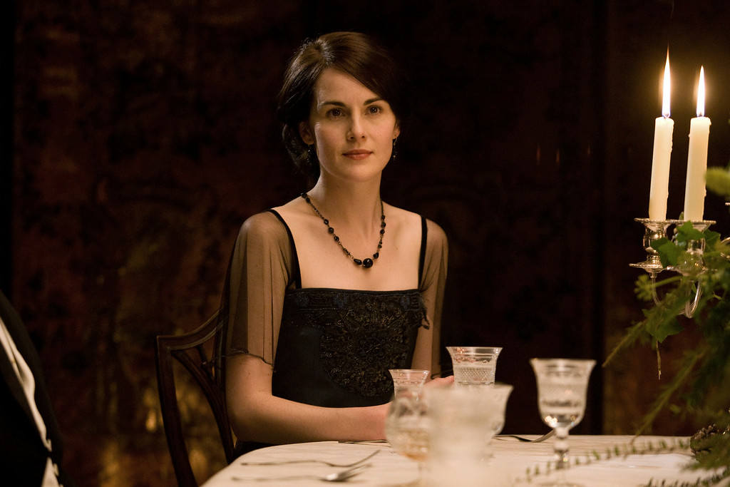 ". In this image released by PBS, Michelle Dockery portrays Lady Mary in a scene from ""Downton Abbey.\"" Dockery was nominated for an Emmy Award for best actress in a drama series on Thursday July 10, 2014. The 66th Primetime Emmy Awards will be presented Aug. 25 at the Nokia Theatre in Los Angeles. (AP Photo/PBS, Carnival Film & Television Limited 2011 for MASTERPIECE)"