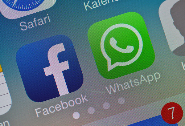 PHOTOS: Facebook buys mobile messaging service WhatsApp for $19 Billion