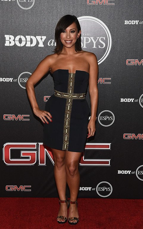 . HOLLYWOOD, CA - JULY 15:  Dancer Cheryl Burke arrives at the ESPN\'s BODY at ESPY\'s Pre-Party at Lure on July 15, 2014 in Hollywood, California.  (Photo by Michael Buckner/Getty Images)