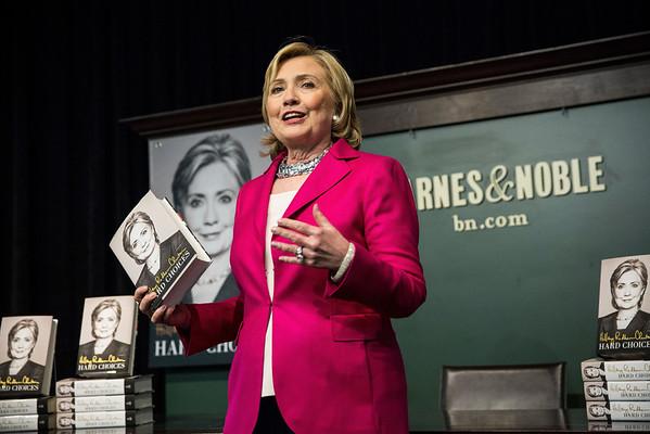 PHOTOS: Hillary Clinton begins Hard Choices book tour