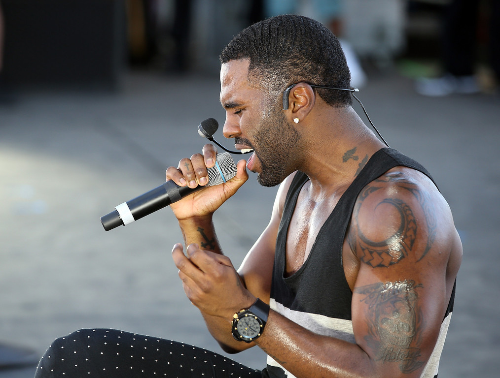 . Entertainer Jason Derulo performs onstage during the iHeart Radio Music Festival Village on September 21, 2013 in Las Vegas, Nevada.  (Photo by Christopher Polk/Getty Images for Clear Channel)