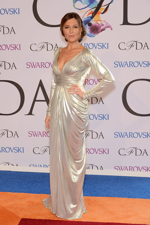 . Thea Andrews attends the 2014 CFDA fashion awards at Alice Tully Hall, Lincoln Center on June 2, 2014 in New York City.  (Photo by Dimitrios Kambouris/Getty Images)