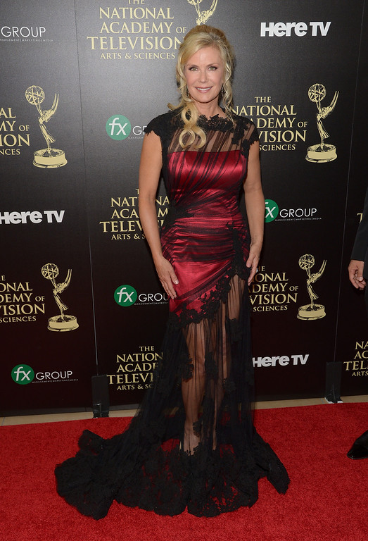 . Actress Katherine Kelly Lang attends The 41st Annual Daytime Emmy Awards at The Beverly Hilton Hotel on June 22, 2014 in Beverly Hills, California.  (Photo by Jason Kempin/Getty Images)