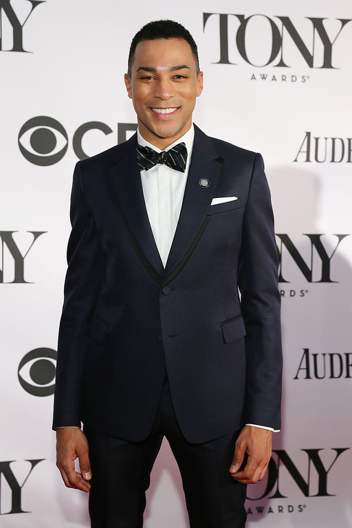 . Actor Charl Brown attends The 67th Annual Tony Awards  at Radio City Music Hall on June 9, 2013 in New York City.  (Photo by Neilson Barnard/Getty Images)
