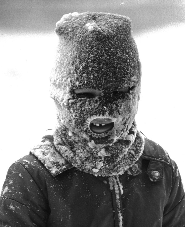 . Dressed for the Blizzard of \'82. Denver Post Library Archive