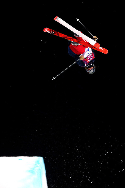 . Maddie Bowman of the United States competes in the Freestyle Skiing Ladies\' Ski Halfpipe Qualification on day thirteen of the 2014 Winter Olympics at Rosa Khutor Extreme Park on February 20, 2014 in Sochi, Russia.  (Photo by Cameron Spencer/Getty Images)