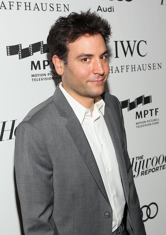 ". Actor Josh Radnor arrives at The Motion Picture & Television Fund Presentation of ""Reel Stories Real Lives\"" at Milk Studios on October 20, 2012 in Hollywood, California.  (Photo by Jesse Grant/Getty Images for Motion Picture & Television Fund)"