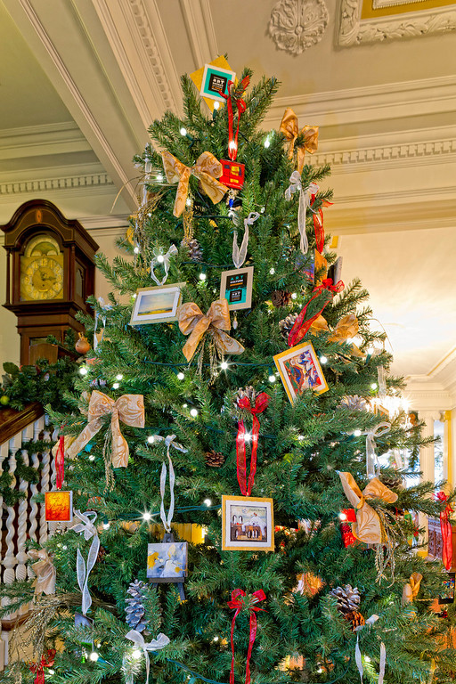 . Denver\'s Art District on Santa Fe tree at the Colorado Governor\'s Mansion. Photo by Mark Broste