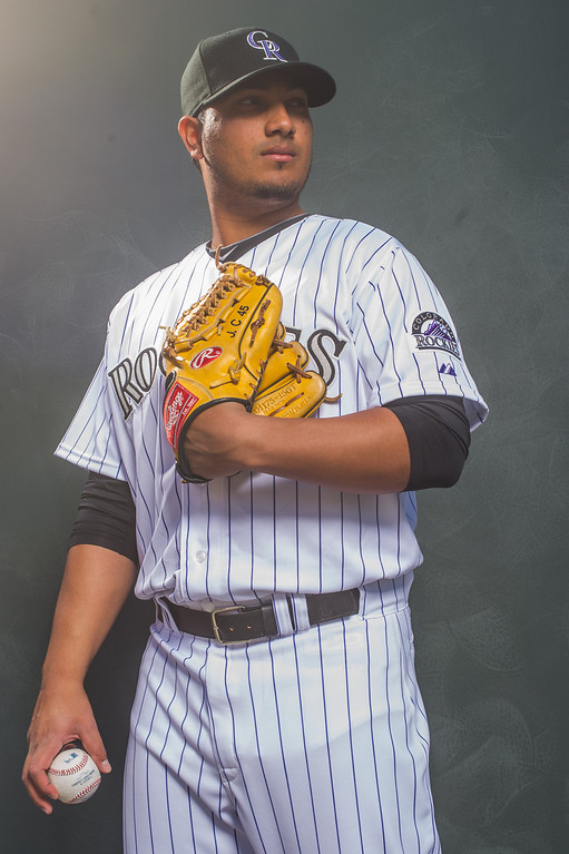 . 45 Jhoulys Chacin Position: RHP Height: 6-3 Weight: 215 Expectations: The biggest blow of spring training was losing Chacin to a strained shoulder. He�s expected back in early May. If he gets healthy, he instantly becomes the rotation�s best right-hander because of his ability to get groundball outs.   2014 salary: $4.85 million (Photo by Rob Tringali/Getty Images)