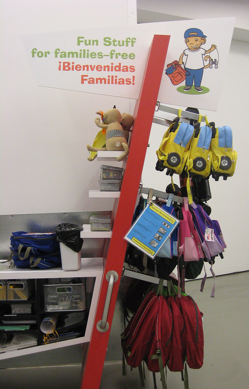 . The Denver Art Museum\'s family backpacks and art tubes program has been a success.