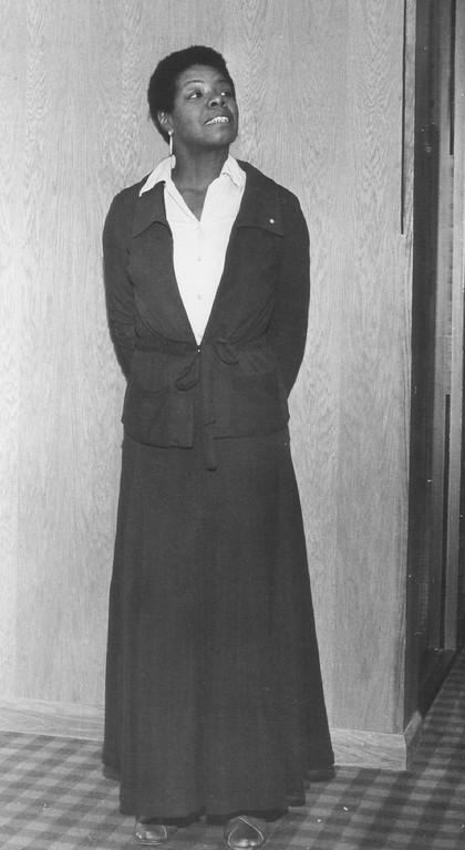 . Angelou, Maya - Bicentennial Adviser. 1975. Photo by Millard D. Smith. Denver Post Library photo archive