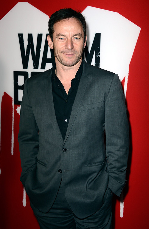 ". Actor Jason Issacs arrives at the premiere of Summit Entertainment\'s ""Warm Bodies\"" at ArcLight Cinemas Cinerama Dome on January 29, 2013 in Hollywood, California.  (Photo by Frazer Harrison/Getty Images)"