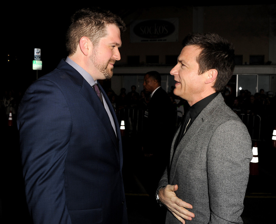 """. Director Seth Gordon (L) and Adam Fogelson, Chairman, Universal Pictures arrive at the premiere of Universal Pictures\' \""""Identity Theft\"""" at the Village Theatre on February 4, 2013 in Los Angeles, California.  (Photo by Kevin Winter/Getty Images)"""