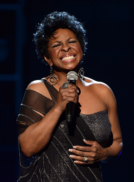 . LOS ANGELES, CA - FEBRUARY 01:  Singer Gladys Knight performs onstage during the 44th NAACP Image Awards at The Shrine Auditorium on February 1, 2013 in Los Angeles, California.  (Photo by Kevin Winter/Getty Images for NAACP Image Awards)