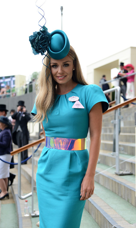 . Singer Katherine Jenkins attends day three of Royal Ascot at Ascot Racecourse on June 19, 2014 in Ascot, England.  (Photo by Kirstin Sinclair/Getty Images for Ascot Racecourse)