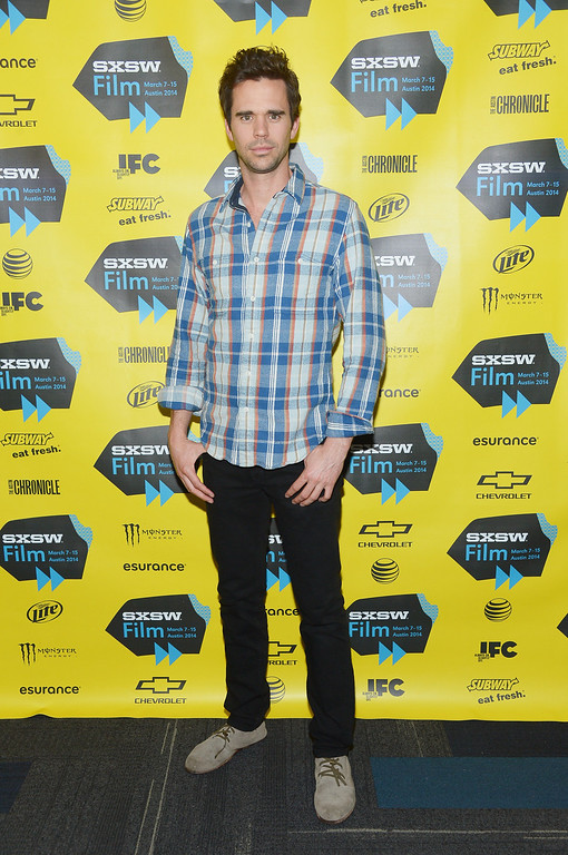 ". Actor David Walton attends the ""Break Point\"" premiere during the 2014 SXSW Music, Film + Interactive Festival at Topfer Theatre at ZACH on March 8, 2014 in Austin, Texas.  (Photo by Michael Loccisano/Getty Images for SXSW)"