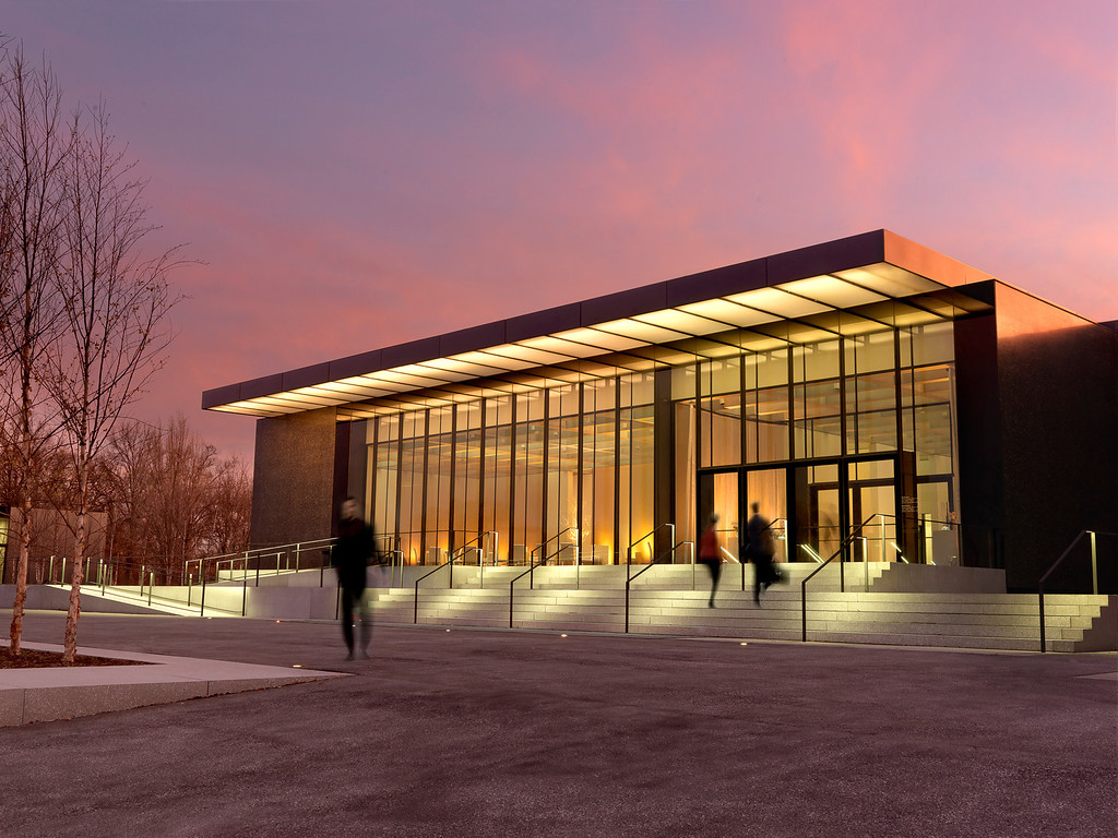 . The St. Louis Art Museum addition is a humble box that draws its beauty from delicate details. It was designed by David Chipperfield. Photo by Alise O\'Brien, provided by the St. Louis Art Museum.