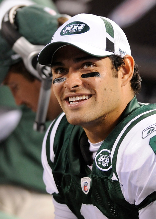 . Mark Sanchez, USC Selected fifth overall by the Jets in 2009 As a rookie, and then again in his second year, Sanchez led the Jets to within one win of the Super Bowl, taking the team to the AFC Championship game in consecutive seasons. He�s struggled since, though, even losing his job to Greg McElroy for a short period in 2012. GRADE: C. He�d have a D if it weren�t for the (fluke-y) back-to-back AFC Championship appearances. (AP Photo/Bill Kostroun, File)