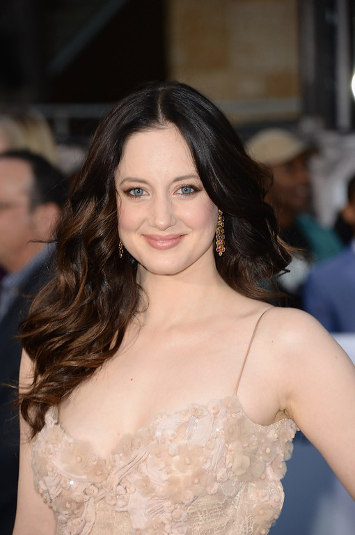 """. Actress Andrea Riseborough arrives at the premiere of Universal Pictures\' \""""Oblivion\"""" at Dolby Theatre on April 10, 2013 in Hollywood, California.  (Photo by Jason Merritt/Getty Images)"""