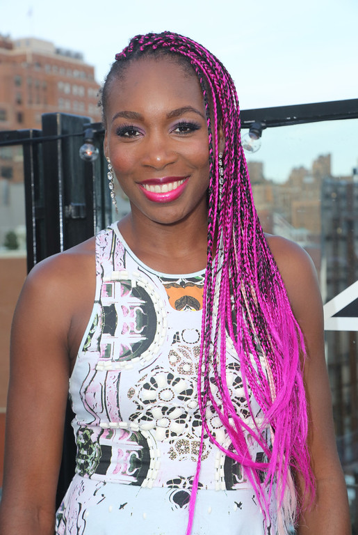 . Venus Williams attends private US Open viewing party hosted by Venus Williams and GREY GOOSE Vodka at Soho House on September 9, 2013 in New York City. (Photo by John Parra/Getty Images for GREY GOOSE)